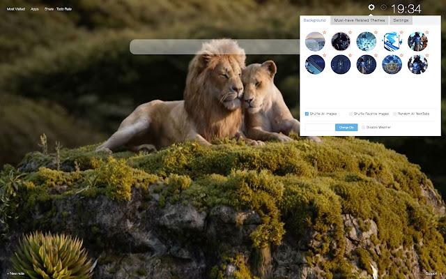Nala The Lion King Wallpapers New Tab