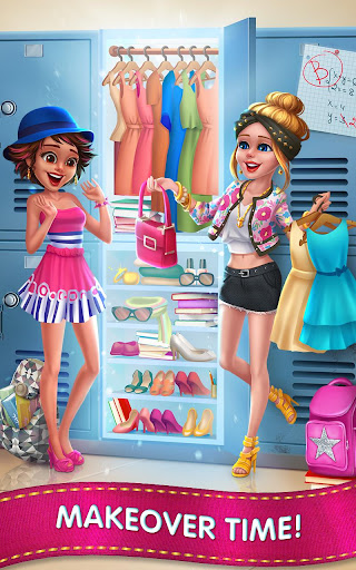 Fashion School Girl - Makeover & Dress Up Friends for PC