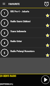 Radio Indonesia screenshot 2