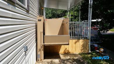 Photo: Bruno Wheelchair Lift | VPL-3153