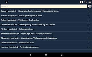 Screenshot of Austrian Constitution