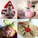Christmas Homemade ornaments icon