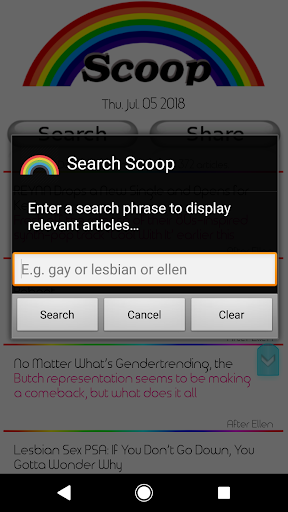 Scoop - Lesbian Gay News (LGBTQ) 2.0.21 screenshots 2