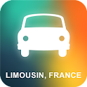 Limousin, France GPS icon
