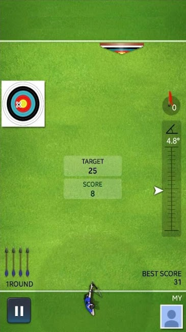 #1. Archery Ace (Android)