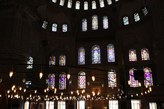Photo: Day 110 - Some of the Windows in the Blue Mosque #2
