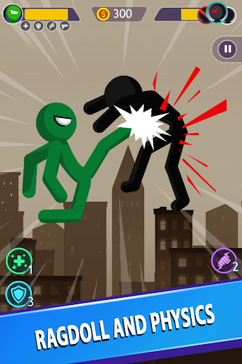 Stickman Battle apktram screenshots 5