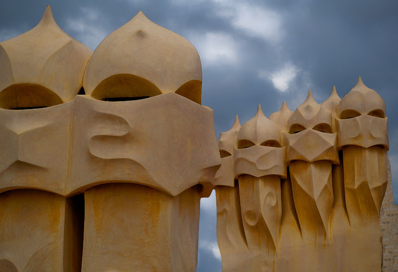 i guerrieri di Gaudi di AdrianoPerelli