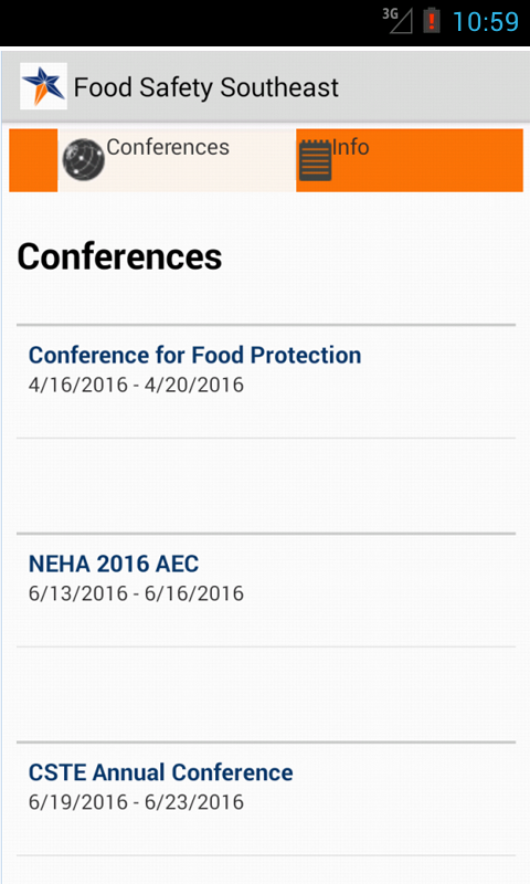 Food Safety Southeast- screenshot