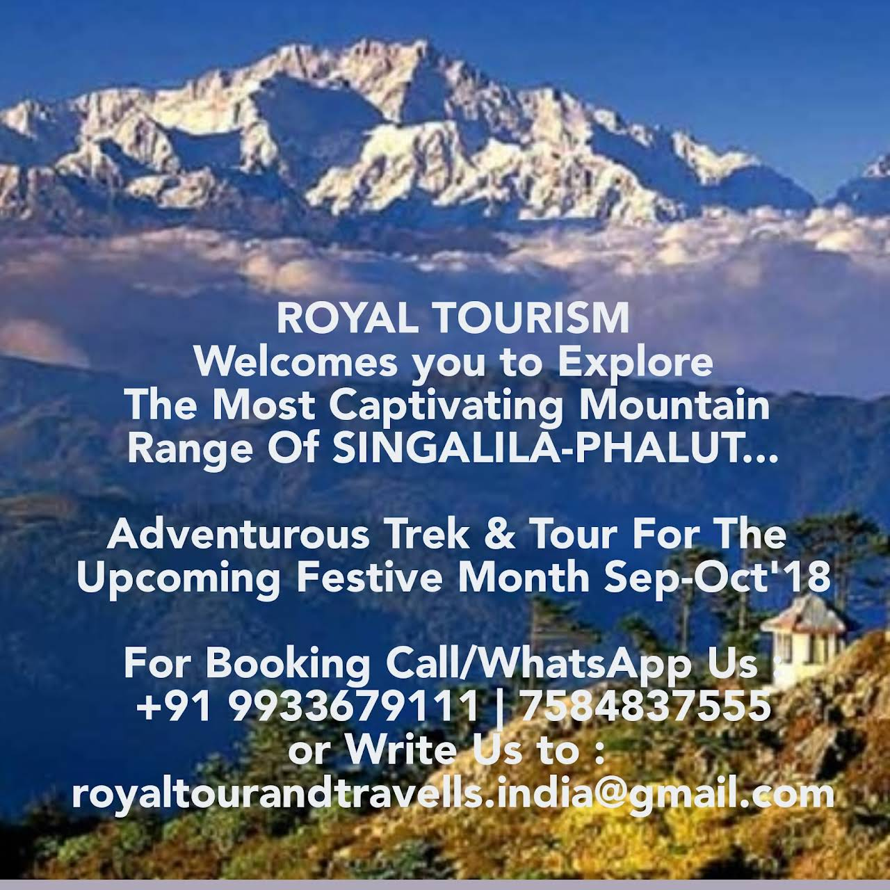 ROYAL INDIA TOURISM & ADVENTURE - Travel Agency in Bagdogra