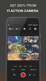 Yi Pro - Yi Action camera control and scripting apk screenshot 1