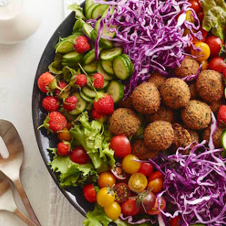 Loaded Falafel Salad Recipe