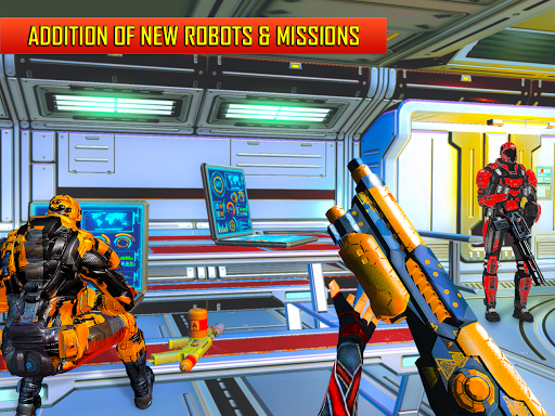 Robot Shooting FPS Counter War Terrorists Shooter 2.8 screenshots 16