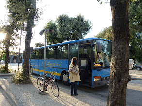 Photo: This bus took us back to Lucca from Pisa