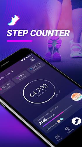 Easy Pedometer Android App Screenshot