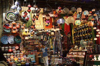 Photo: Day 104 - Lantern Shop In the Egyptian Spice Bazaar