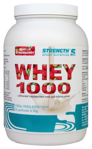 Strength Whey Protein 1000 - Vanilla/Strawberry