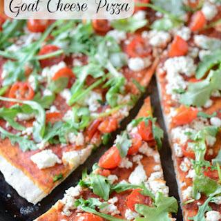 Tomato, Arugula & Goat Cheese Pizza