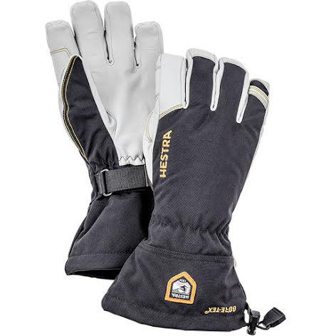 Army Leather Gore-Tex 5-Fingerhandske