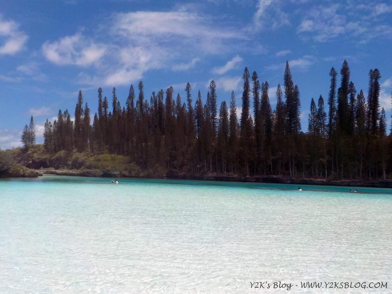 La piscina naturale della Baia di Oro - Isola dei Pini