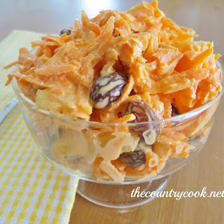Classic Carrot Raisin Salad.