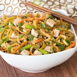Zucchini-Noodle Pad Thai