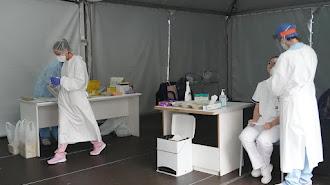Realización de pruebas PCR en Euskadi.