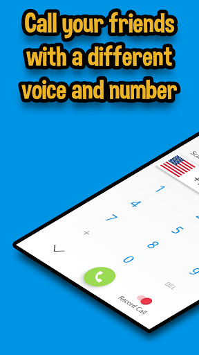 Funcall - In Call Voice Changer &  Call Recordings 4.0.13 screenshots 2