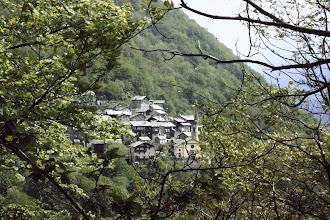 Photo: il villaggio di Savogno