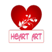 Heart Art: Make Love Images and share free. icon