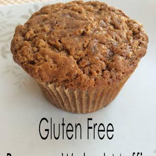 Gluten Free Banana Walnut Muffin.