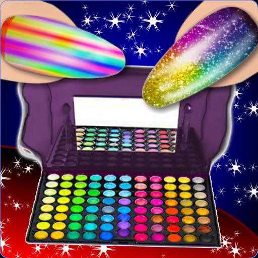 Princess Nail Art Salon And Beauty Makeup Android APK Download Free By Lili Dress Up Games