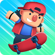 Tap Skaters – Downhill Skateboard Racing MOD APK 1.0.23 (Unlimited Money)