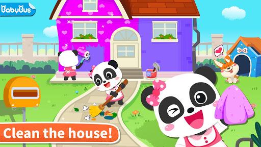 Baby Panda' s House Cleaning screenshot 1