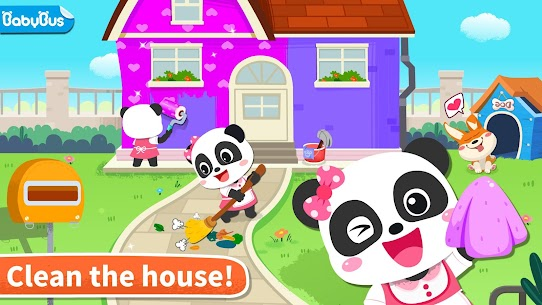 Baby Panda' s House Cleaning MOD (Unlimited Money) 1