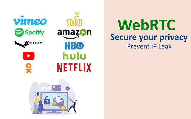 Belka WebRTC: Prevent IP leak