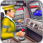 City Train Driving Simulator: Free Train Game 2018 icon