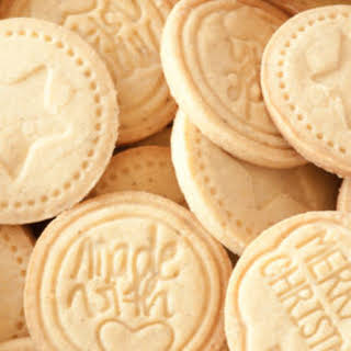 Stamped Cookies - Albertle German cookies.