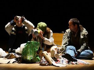 Pièce de théâtre La Moulinette interprétée par des personnes handicapées et des personnes accueillies de L'Arche en Charente