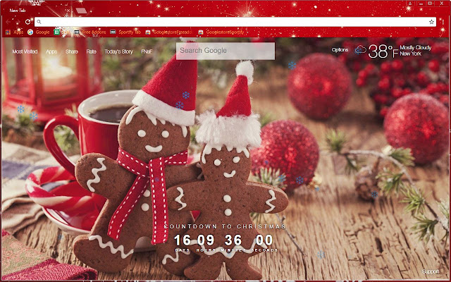 freeaddoncom happy new year xmas themeadd to chrome