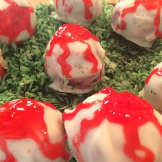 Red Velvet Cake Eye Balls