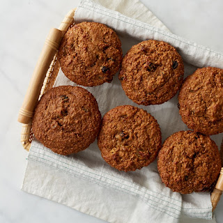 Giant Bran and Raisin Muffins