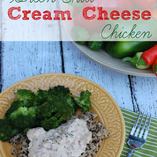 Chicken Green Chili Cream Cheese Recipes.