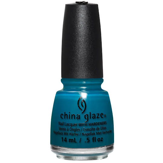 CHINA GLAZE REBEL NAIL LACQUER POLISH JAGGED LITTLE TEAL 3-pack