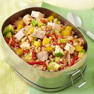 Smoked Turkey & Farro Salad