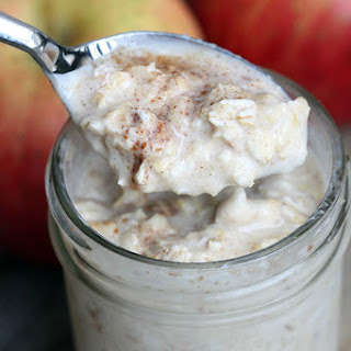 Cinnamon Apple Overnight Oats Recipe