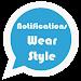 Notifications Wear for Gear S2,S3,Sport & G. Watch Icon