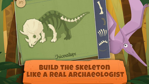 dinosaurs for kids : archaeologist - jurassic life screenshot 2