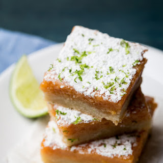 Guava-Lime Bars