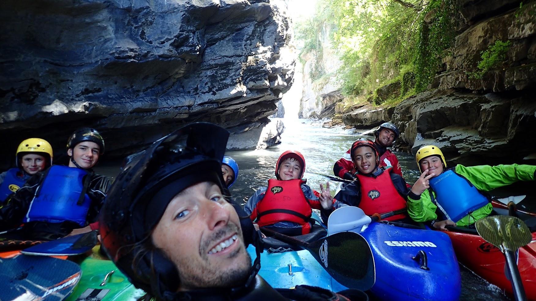 kayak jeunes